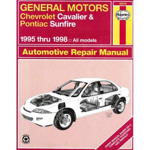 Mon premier blog page 8 general motors chevrolet cavalier and pontiac sunfire automotive repair manual 1995 thru 1998 all models fandeluxe Gallery