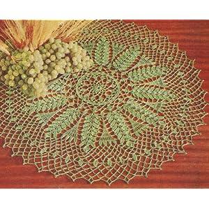 Crochet: DOILY PATTERN (RIPE WHEAT SIZE10 THREAD), ripe wheat, rnd