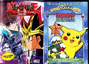 Pokemon Pikachu39s Winter Vacation  Yu Gi Oh Face Off  2 Pack