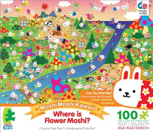 Ceaco Moshi Moshi Kawaii Flower Moshi Jigsaw Puzzle