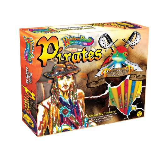 Rainbow Brush Pirates Activity Kit