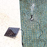 AGPtek® 7V 1.12W Solar-Power Water Pump Garden Fountain Pool Water Features