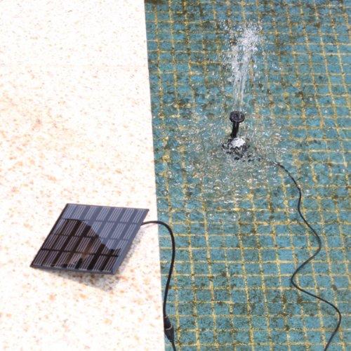 7V 1.12W Solar-Power Water Pump Garden Fountain Pond Water Features