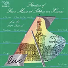 Rarities of Piano Music 1998 - Live Recordings from the Husum Festival