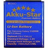 "Akku-Star Premium Battery für Samsung Galaxy S3 ""NFC-Edition"" (2400mAh/9,12Wh)"