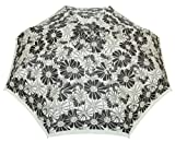 B. Hybryd Folding Umbrella (black&white flowers)