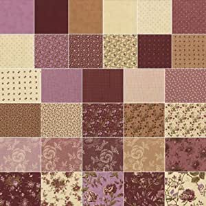 Layer Cake Quilt Size : Blackbird Designs PLUM SWEET Layer Cake 10