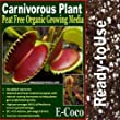 CARNIVOROUS PLANT SOIL/COMPOST with PERLITE (5 LITRES) READY TO USE