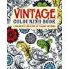 Vintage Colouring Book: A Delightful Selection of Classic Patterns (Adult Colouring Books)