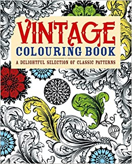 buy vintage colouring book a delightful selection of classic patterns adult colouring books book online at low prices in india vintage colouring book - Colouring Books