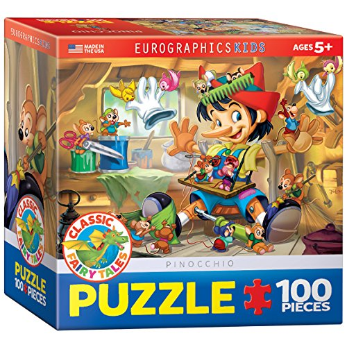 Pinocchio 100 Piece Puzzle (Pinocchio Nose Growing)