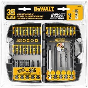 DEWALT DW2180 35-Piece Impact Ready Drilling/Fastening Set from DEWALT