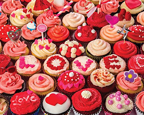 Cupcakes of Love Jigsaw Puzzle 1000 Piece