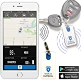 Waterproof Bluetooth Item Finder   Car Keys, Wallet, Kids, Smart Phone, Key, Small Remote Keyfinder, Purse   Pet Locator Device, Kid Tracker   Android, iOS & iPhone GPS App   Eureka! by Fyndit.co