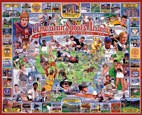 Cheap Fun White Mountain Puzzles American Sports History (B0006NDB7K)