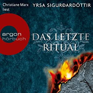 Das letzte Ritual (Dóra Guðmundsdóttir 1) Hörbuch