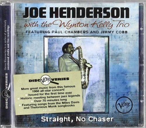 Straight No Chaser Live Edition by Joe Henderson, Wynton Kelly Trio (1996) Audio CD by Wynton Kelly Trio Joe Henderson
