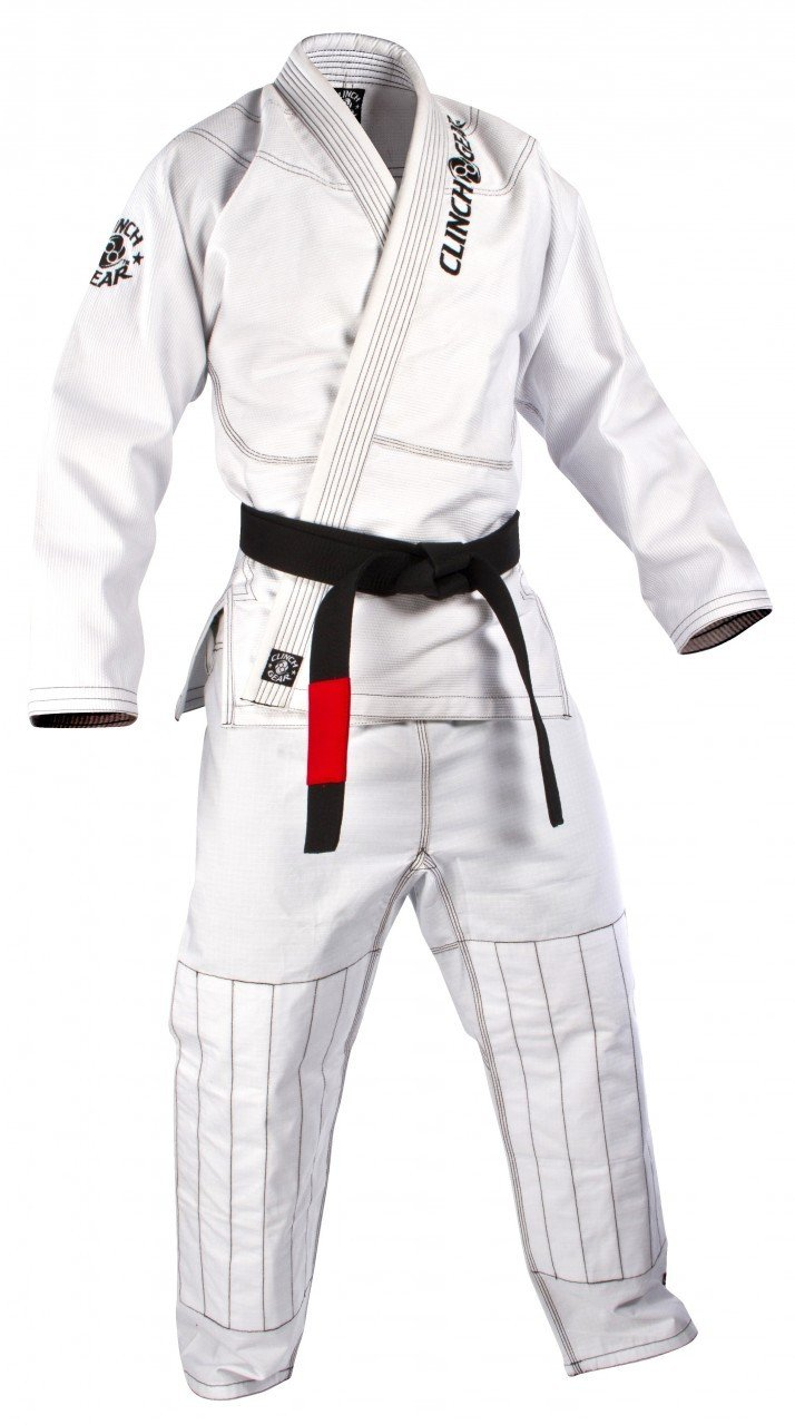 Clinch Gear Premium Competition BJJ Gi White