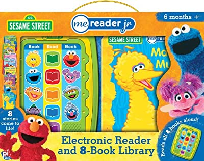Sesame Street Me Reader Jr. (Electronic Reader and 8-Book Library)