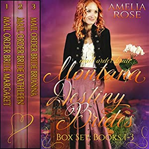 Montana Destiny Brides Box Set Audiobook