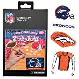 NFL Denver Broncos Ruff N' Ready Shrinky Dinks Plastic Sheets at Amazon.com