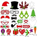 Christmas Photo Booth Props Attached to the Sticks, Christmas Gifts, Photo Masks by US-Sales by USA-SALES