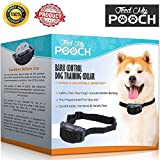 Barking Collars - Dog Shock Collar With Bark Control Collar System - No Bark Collar For Large / Small Dogs - The FMP Shock Collar For Dogs Uses Humane Vibration With Electronic Adjustable Sensitivity.