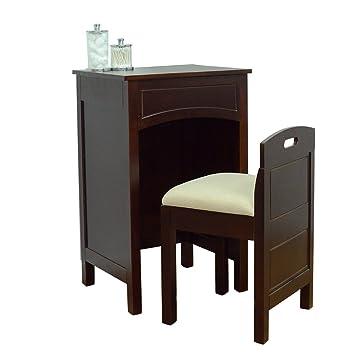 Lamont Home Cheswick Vanity Set, Espresso