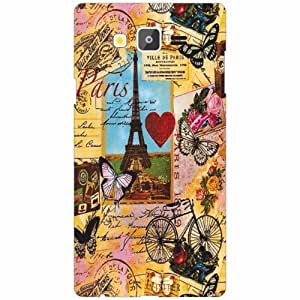 Printland Samsung Galaxy On7 Back Cover