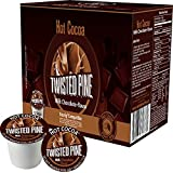 Twisted Pine Coffee Milk Chocolate Hot Cocoa Single Serve For Keurig Brewer - 12 ct