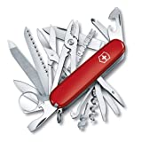 SWISS ARMY SwissChamp Knife Red One Size (Color: Red, Tamaño: One Size)