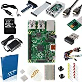 Raspberry Pi Model B+ Ultimate Camera Kit -- Includes 200 Page User Guide + 5MP Camera Board Module and 15 Essential Accessories