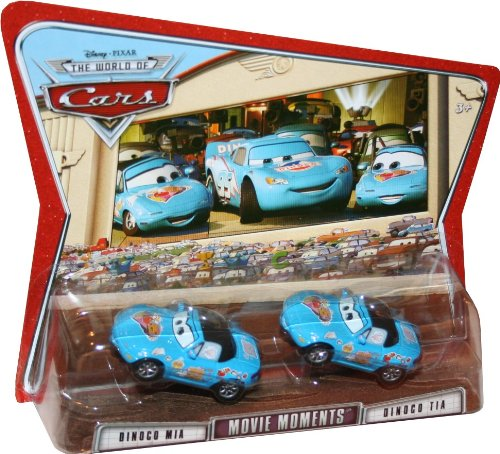 Buy Low Price Mattel Movie Moments DINOCO MIA & DINOCO TIA Disney / Pixar CARS 1:55 Scale Die-Cast Vehicle 2 Pack Figure (B003DERAO4)