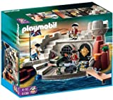 PLAYMOBIL 5139 - Soldiers Fort With Dungeon + 5136 ââ¬