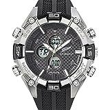 All Blacks - 680225 - Montre Homme - Quartz Analogique - Cadran Noir - Bracelet Plastique Noir