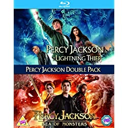 Percy Jackson 1 & 2 [Blu-ray]