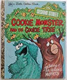 img - for cookie monster and the cookie tree [ little golden book] book / textbook / text book
