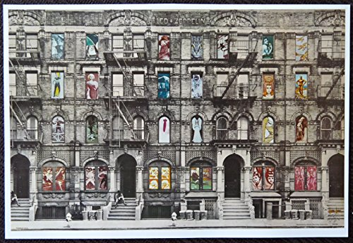 Led Zeppelin - Physical Graffiti/Greenwich Village Tenements - Rare Advertising Poster