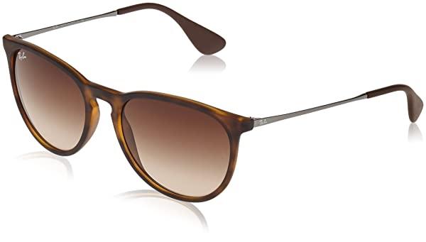 95a007c87a Ray-Ban Erika Round, Rubber Havana 53 mm (Color: Havana - Rubber, Tamaño:  53 mm)