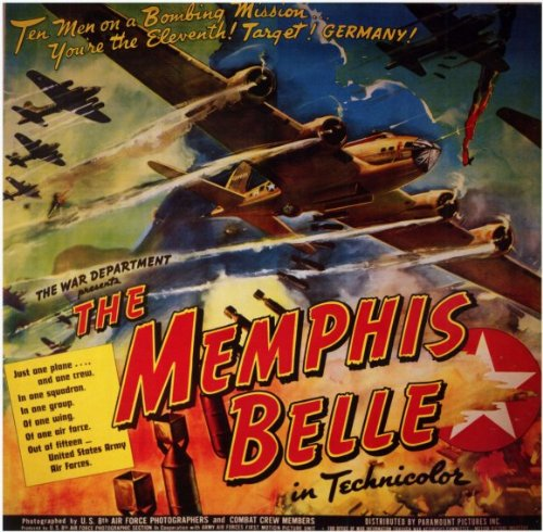 The Memphis Belle: A Story of a Flying Fortress Poster Movie B 11x17 Robert Morgan Vince Evans