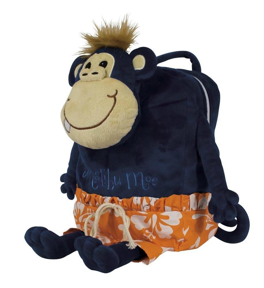 Laid Back Kids Malibu Moe Monkey Backpack