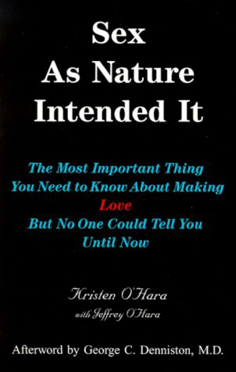 Sex as Nature Intended It