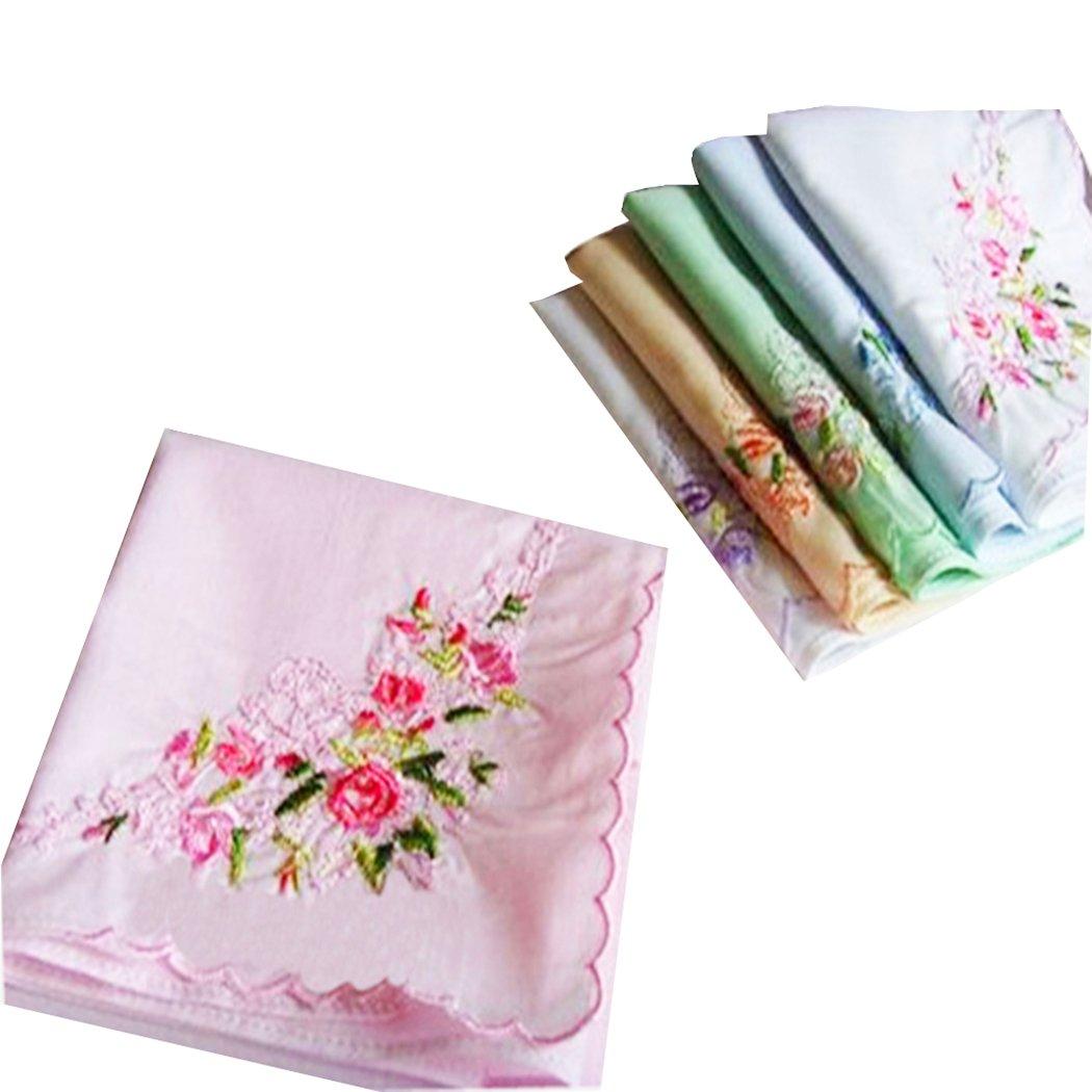 La closure Ladies Soft Embroidery 60s