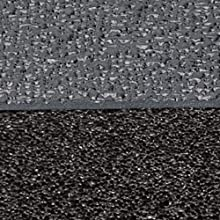 NoTrax Rubber 480 Pebble Trax Anti-Fatigue Mat, for Dry Areas, Black