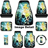 61lhVQm8DGL. SL160  Disney Tinkerbell Moody Auto Car Truck SUV Accessories Interior Combo Kit Gift Set   8PC