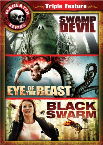 Maneater Triple Feature 2: Swamp Devil / Eye of the Beast / Black Swarm (Swamp Devil compare prices)