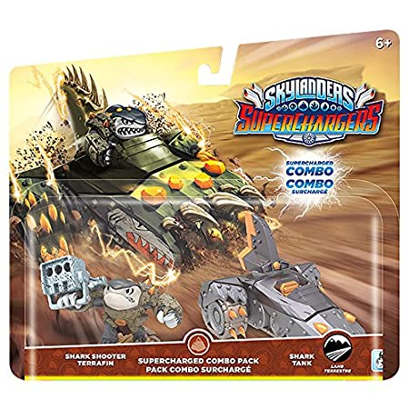 Skylanders SuperChargers Dual Pack #1: Shark Shooter Terrafin and Shark Tank