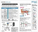 EX2-501M 3D Vibration Earphone Made for i Phone (White) [Electronics]