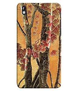 GADGET LOOKS PRINTED BACK COVER FOR HTC DESIRE 816 MULTICOLOR