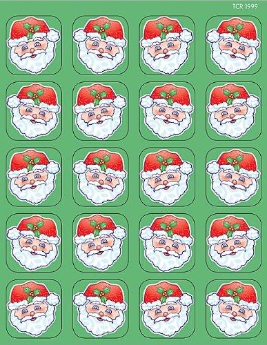 Teacher Created Resources Santa Stickers, Multi Color (1999) - 1